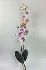 "AAA  28"" Artificial Phalaenopsis Orchid Silk Flower Stem WEDDING Home Tabletop"