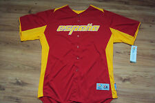 TEAM SPAIN NEW WORLD BASEBALL CLASSIC AUTHENTIC MAJESTIC COOL BASE JERSEY