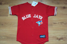 TORONTO BLUE JAYS NEW MLB MAJESTIC CANADA DRY OFFICIAL KIDS JERSEY