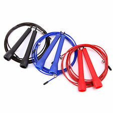 3M Speed Skipping Skip Wire Adjustable Jump Rope CrossFit Thai Boxing Exercise