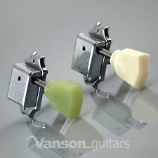 6 x Vanson Vintage Tuners, Machine heads for Epiphone® Les Paul, SG, ES, V44 CR