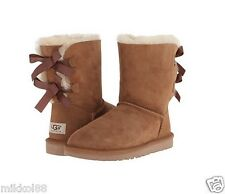 UGG Australia Women's Bailey Bow Boots 1002954 Chestnut Sz 5-10 BRAND NEW