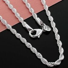 Stunning 925 Sterling Silver 3MM Classic Snake Necklace Chain Wholesale Price