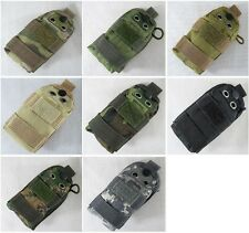 New Airsoft Molle Strobe/Flashlight/Compass Pouch 4 Colors