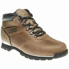 New Mens Timberland Tan Brown Split Rock 2 Leather Boots Hikers Lace Up