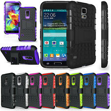 Shockproof Heavy Duty Hard Case Cover With Stand for Mobile Phones
