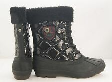 UGG Boots Australia Newberry Cold Weather Boots Waterproof Rubber Black 1001765