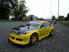 BMW M3 Sport Radio Remote Control Car 1/10 Rechargeable RC Drift Car 280 Motor