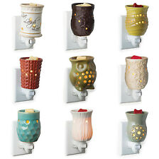 PLUG IN WARMER USE WITH SCENTSY YANKEE WOODWICK - PICK YOUR STYLE - FREE WAX