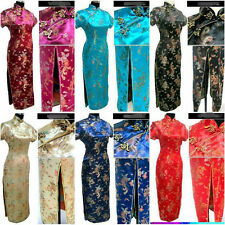 Chinese Women's Dragon&Phoenix long Cheongsam Evening Dress/QiPao Long dress