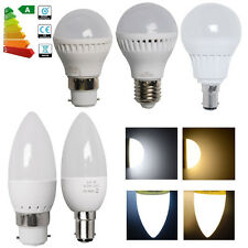3/6x 3W 5W B22 B15 E27 LED Candle Bulbs Globe Light Spotlight Energy Saving Lamp