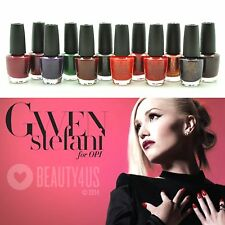 2014 OPI Gwen Stefani Holiday Collection - full size 0.5 oz *YOU PICK*