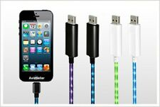Light Up iPhone 5 Charger Cable With Visible Current Flow Ships From The U.S.A.