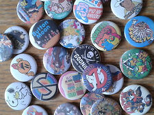 Retro 1980's TV, Flims & Snack Badges