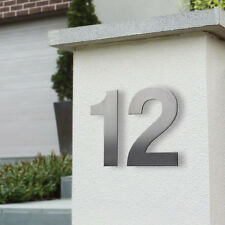 Milkcan Mailbox House Numeral 150mm Stainless Steel Stud Wall Mount Numbers