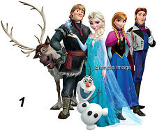 """DISNEY FROZEN wall stickers (choice of 10 images & 2 sizes) """"PLUS DISCOUNTS"""""""