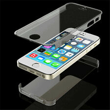 Hot sale Transparent Full Body front Back Skin Case Cover For Apple iPhone 5 5S