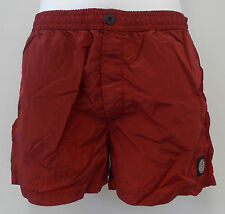 STONE ISLAND BADESHORT SHORT BADEHOSE  col. ROT div. GR. OCCASION-STORE