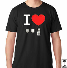 JDM I Love Heart Stick Shift 5 6 Speed Clutch Brakes Gas pedals Type R T Shirt