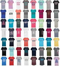 AERO Aeropostale Graphic Logo T-Shirt Top Tee women girl  XS,S,M,L,XL,2XL NEW!