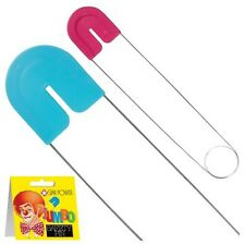 Jumbo Giant Diaper Safety PIN-13 Inches Long GAG  Baby Shower Gift- Girl Or Boy