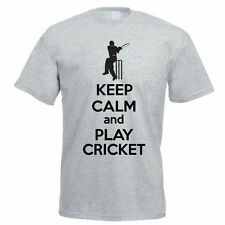 ON THE 8TH DAY GOD PLAYED CRICKET - Sport / Fun / Cricketing Themed Mens T-Shirt