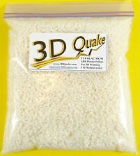 ABS Plastic Pellets 1-5 lbs - Cycolac MG94 Natural Color for 3D Printing