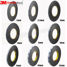 3M 9448A Double Sided Adhesive Tissue Tape Black Glue For Cellphone Repair 50M