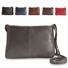 Brunhide Ladies Small Real Leather Shoulder Cross Body Bag Womens 113-300