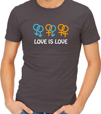 Love is Love Support Gay Marriage Equal Rights Equality Adult T-shirt Tshirt Tee