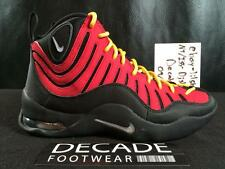 NIKE AIR BAKIN 8-11 2014 VINTAGE BASKETBALL 316383 001 HEAT MIAMI TIM HARDAWAY