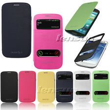 Ultra Flip Battery Back Cover Case For Samsung Galaxy S3 i9300 & S3 mini i8190