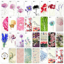 Hot Painted Flowers Scenery Case Skin For Apple iPhone 6 6 Plus Pure and Fresh