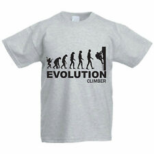 EVOLUTION CLIMBER - Climbing / Gift / Funny / Novelty Children's Themed T-Shirt