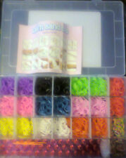 LOOM BANDS KIT 600 - 2100 BANDS KITS ALSO  WATCH & BEAD KITS & RAINBOW LOOM KIT