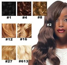 6A Brazilian Remy Body Wave 100% Human Hair Weave/Extensions -8 Beautiful Colors