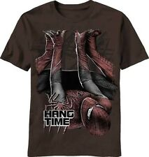 The Amazing Spiderman Movie Hang Time Marvel Comics Adult T-Shirt