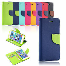Fashion Wallet Card Holder PU Leather Wallet Flip Case Cover For iPhone 4 4s