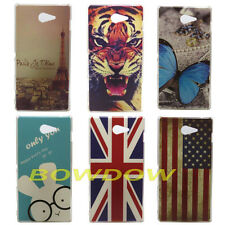 Various Tiger leopard Fashion Pattern back hard Case cover for Sony Xperia M2