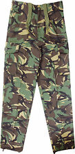 BOYS KIDS CHILDRENS DPM CAMO SOLDIER ARMY COSTUME TROUSERS AGE 5,6,7,8,9,10,11