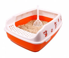 Toyger Pet Clever Cat Toilet Training System Litterbox Cat Litter Box 3 Colors