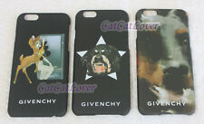 iPhone 6 plus Matte Givenchy Bambi inferno evil black hard extra thin case cover