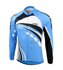 New Men's Autumn Cycling Bicycle Bike Outdoor Long Sleeves Jersey Size M-3XL