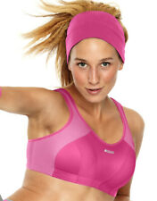 BRAND NEW - SHOCK ABSORBER SPORTS BRA - S4490 - 2  TONE PINK - NEW - LEVEL 4