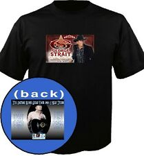 George Strait The Cowboy Rides Away I WAS THERE 2014 concert ticket tour t-shirt