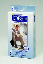 Mens Jobst for Men Thigh High Closed Toe 15-20 mmHg Compression Socks Stockings