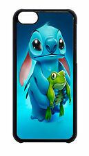 iphone 4 4s 5 5s 6 6 plus stitch with frog case