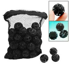 Black Aquarium Fish Tank Filter Bio-Balls Filtration