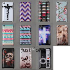 Vintage Stylish Designs Hard PC Case Cover Back Shell for Apple iPod touch 4