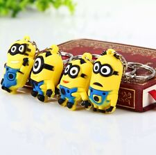 Despicable Me Minions Key Rings Bag Charm Gift Cute Kids Cool Chain Fun Cartoon